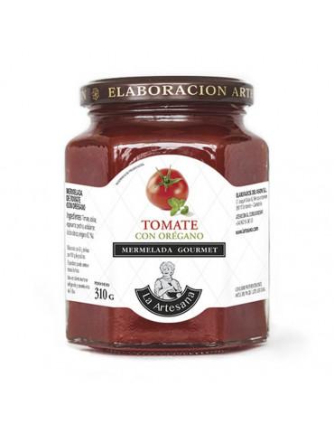 Mermelada de tomate con orégano
