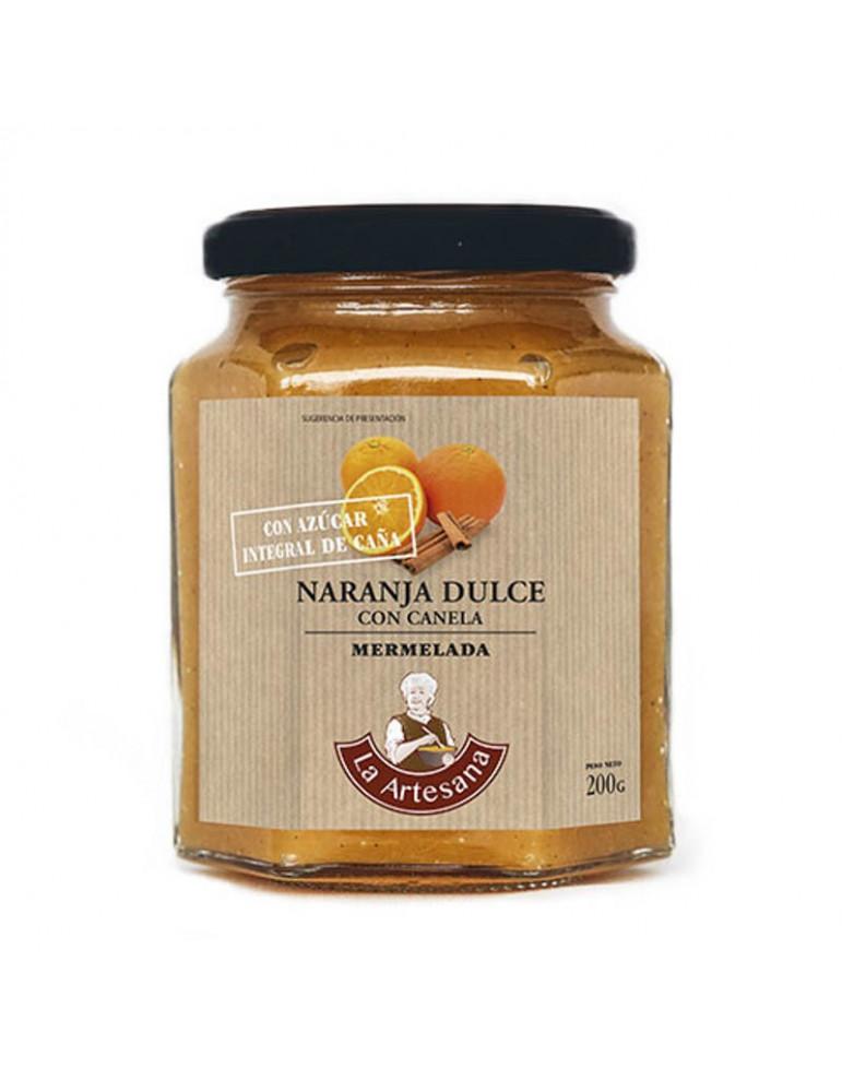 Mermelada de naranja dulce con azúcar de caña