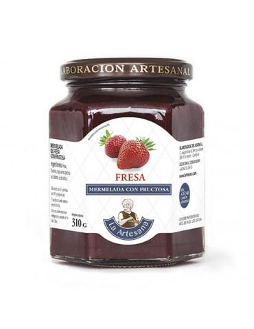 Mermelada de fresa con fructosa