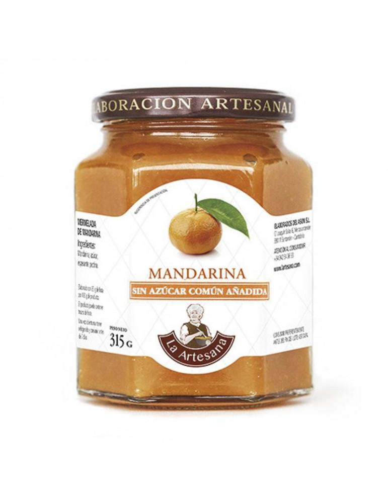 Mermelada de mandarina sin azúcar