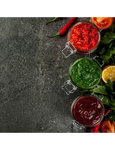Mermelada artesana de pimiento verde