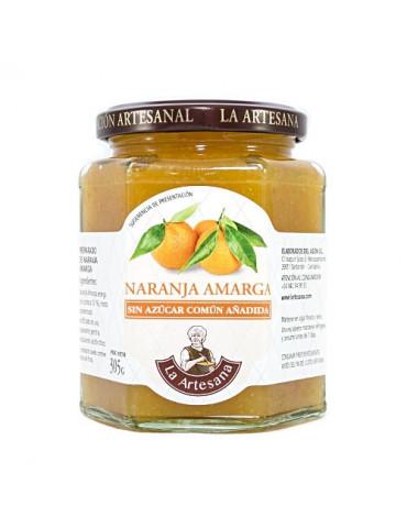 Mermelada de naranja amarga sin azúcar