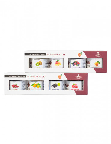 Pack mini mermeladas de frutas