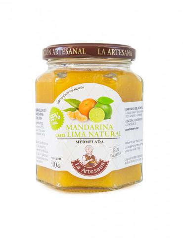 Mermelada de mandarina con lima natural