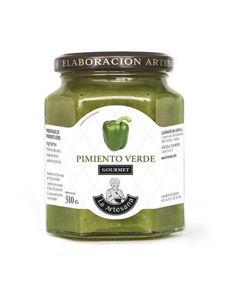 Mermelada de pimiento verde