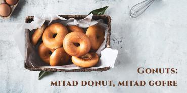 Gonuts caseros: ¡una opción muy saludable!
