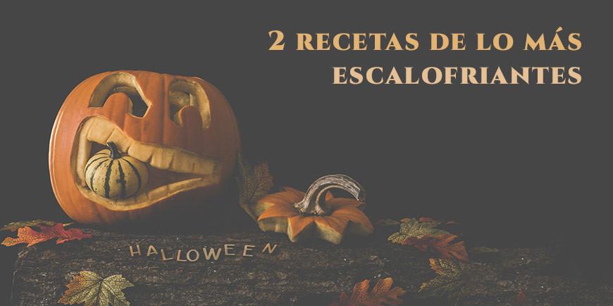 [Especial Hallowen] 2 recetas de lo más escalofriante
