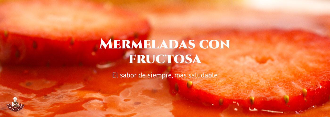 Mermelada con fructosa La Artesana