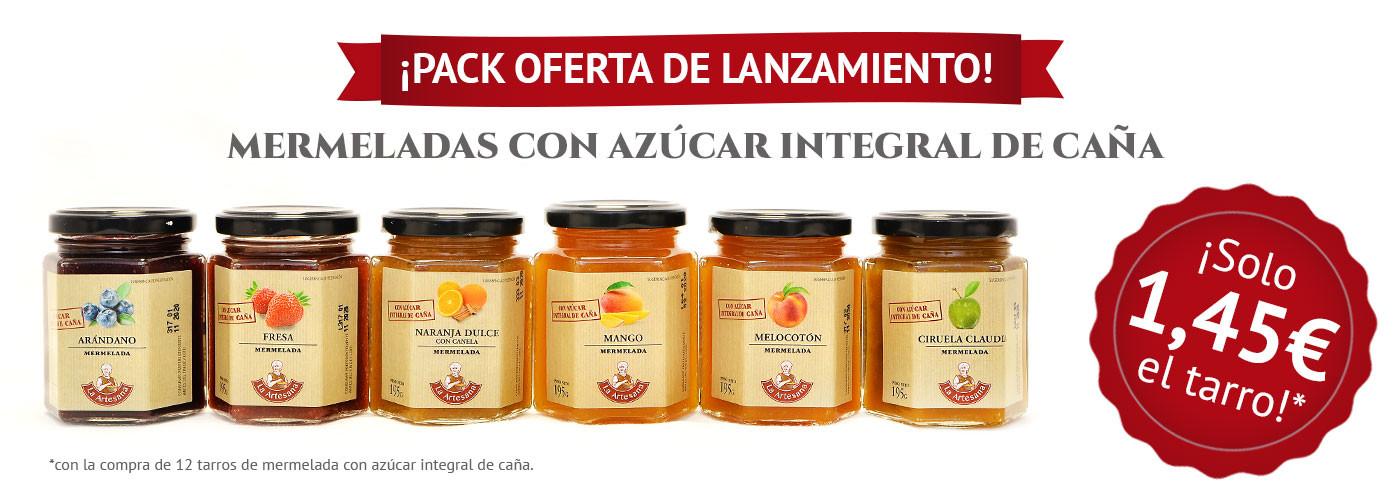 Pack oferta azúcar integral de caña